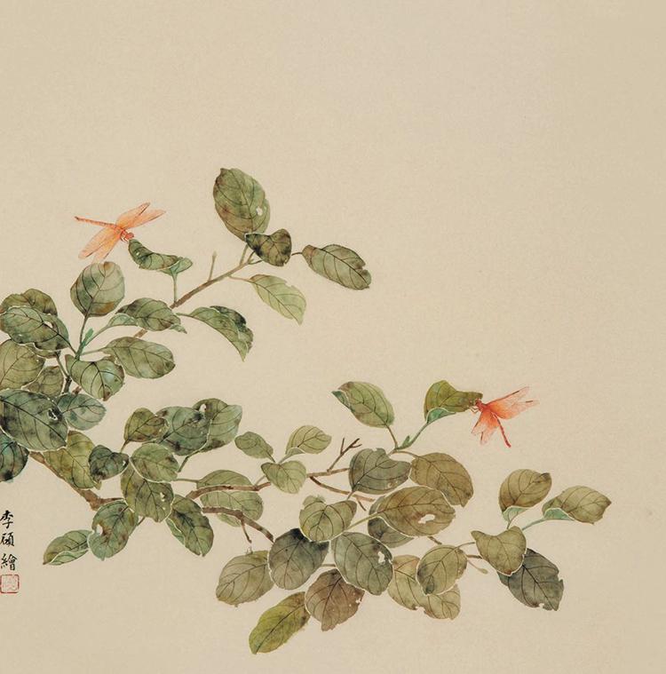03 红蜻蜓 纸本 45×45cm.jpg