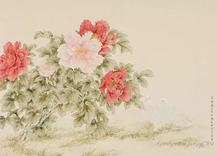 国色天香 纸本 66×90cm.jpg