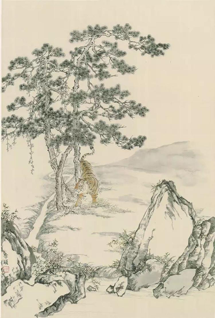 06 故园幽境之二 绢本 45×66cm.jpg